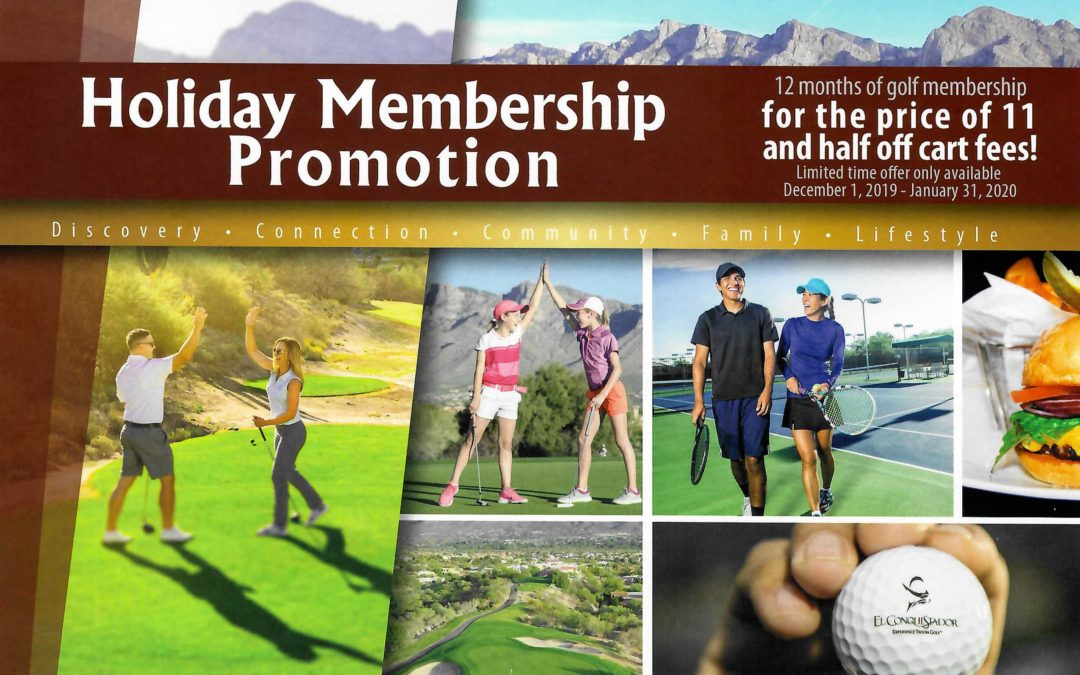 Holiday Golf Membership Special